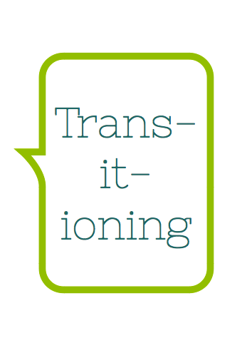library - transitioning