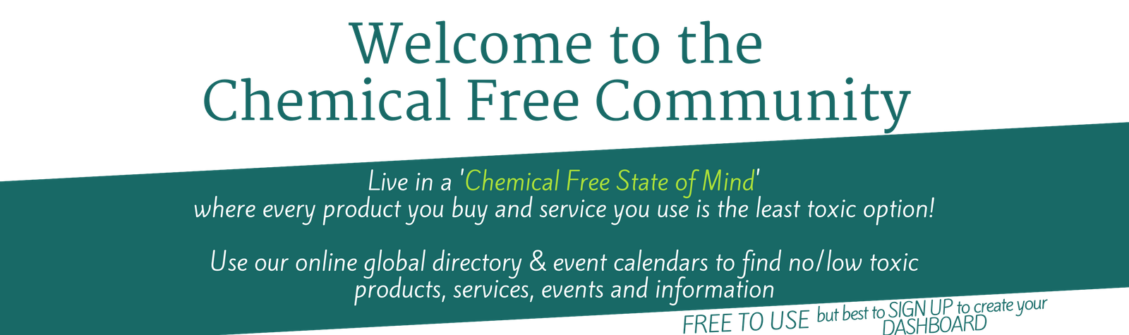 Chemical Free Community