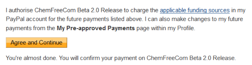 22. confirm paypal
