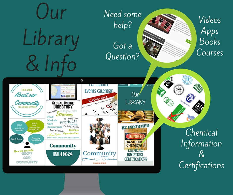 Chemical Free Community Library and Information