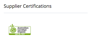 Suppliers Certifcations on ChemFreeCom