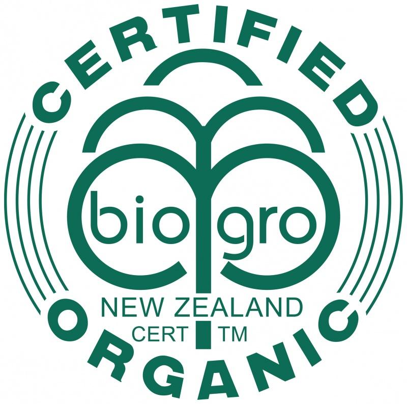 BioGro New Zealand certification
