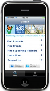 Non GMO Project food and product guide