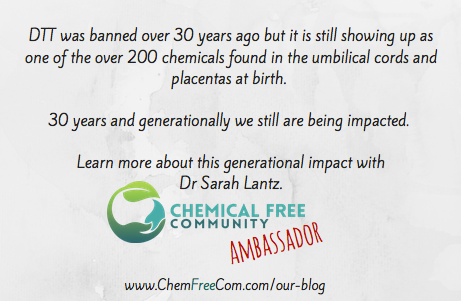 Why Chemical Free? The Body Burdon Part 1 Sarah Lantz summary