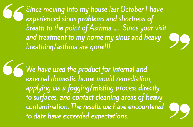Essential Shield MOULD BUSTERS testimonials