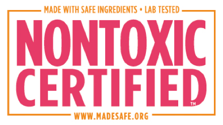 NONTOXIC certified seal