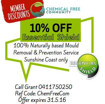 ChemFreeCom memebers discounts - essential shield mould services