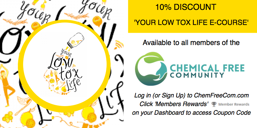 Chemfreecom members discount offer - Alexx Stuart Low Tox Life
