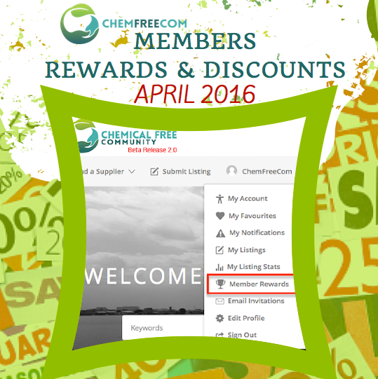 ChemFreeCom Rewards & Disc APRIL 2016