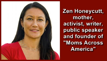 Zen Honeycutt - member of the Chemical Free Community