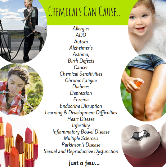 chemicals can cause many diseases
