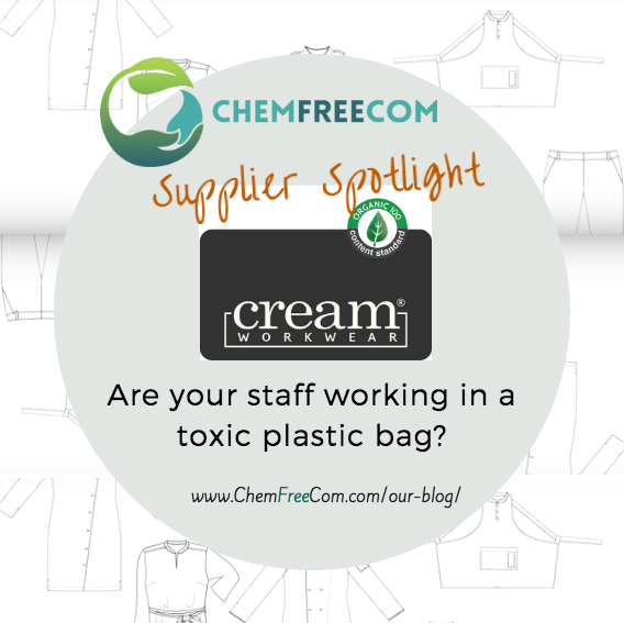Cream Workwear member of the Chemical Free Community
