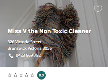 Miss V the Non Toxic Cleaner