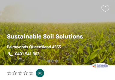Sustainable Soil Solutions