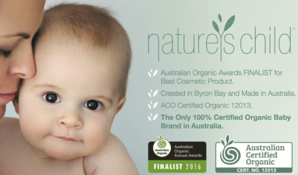 Nature's Child natural ACO awards finalist 2016 - Chemical Free Community Member