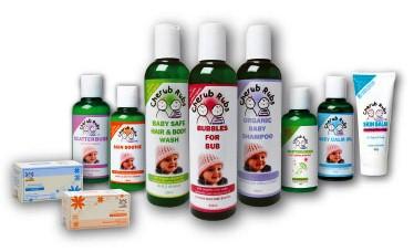 Cherub Rubs product range