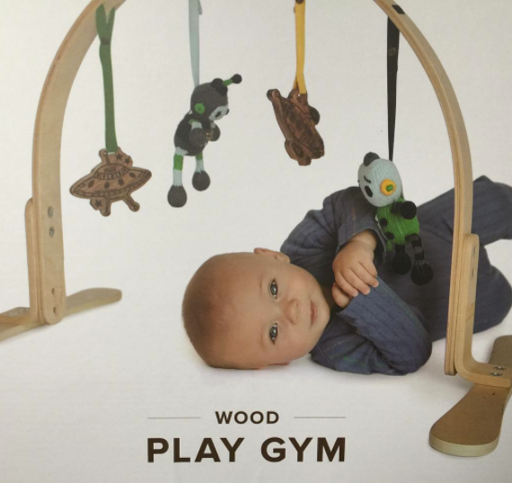 Nature's Child wooden play gym - Chemical Free Community Member