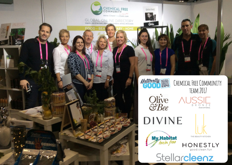 Chemical Free Community Naturally Good Expo Team - Testimonial Olive & Bee