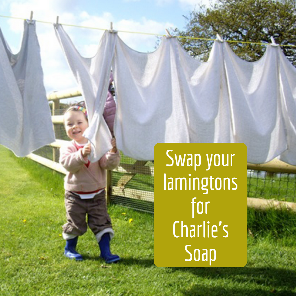 Swap your laminations for Charlie's Soap