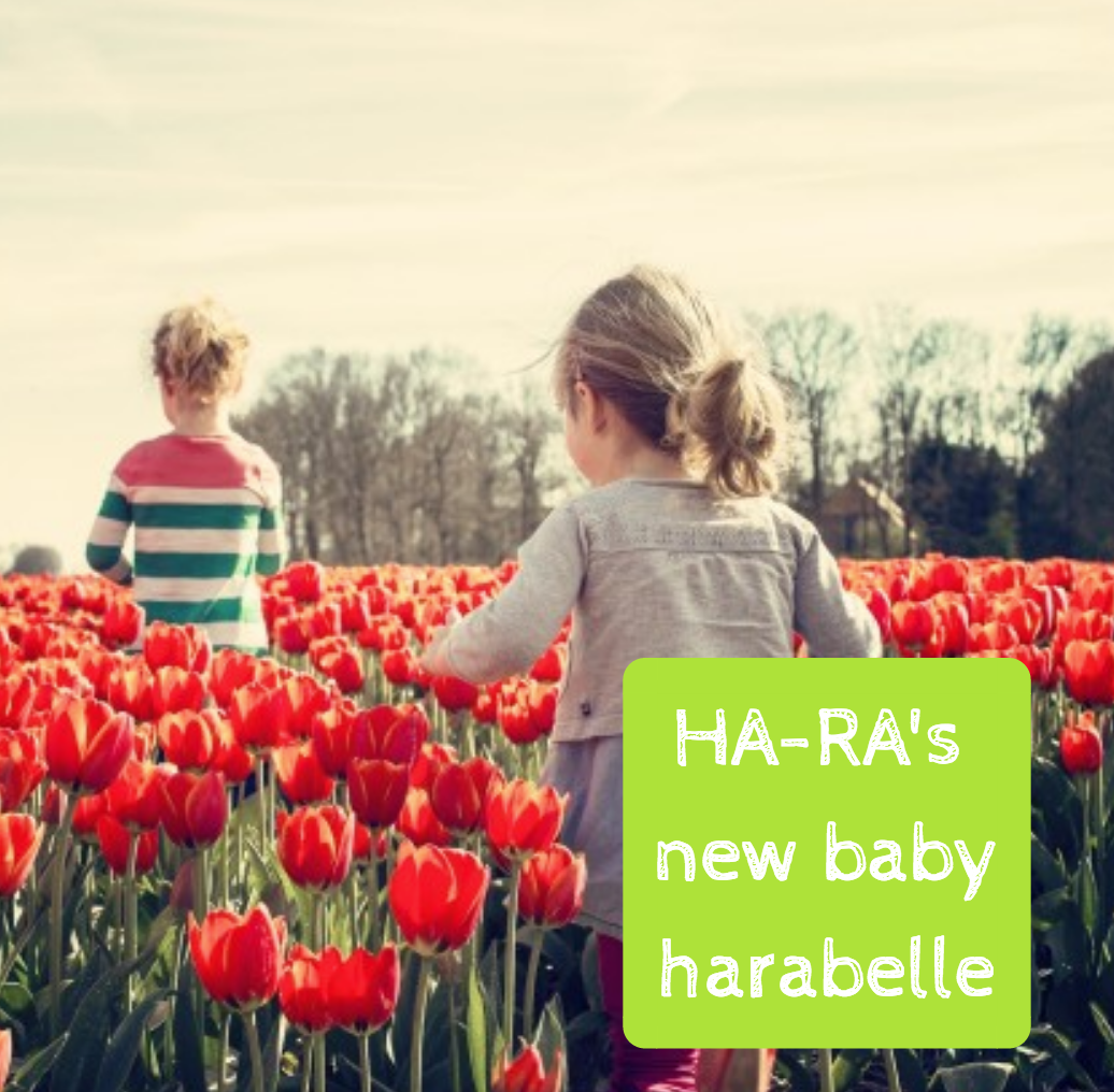 Hara's new baby Harabelle