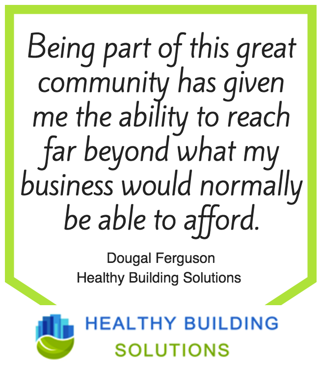 Chemical Free Community Testimonial Healthy Building Solutions