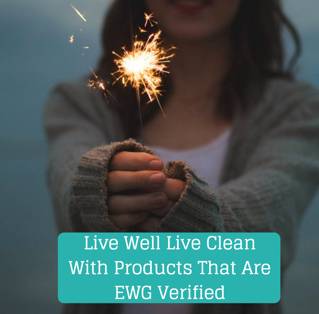 Live Well Live Clean with product EWG Verified