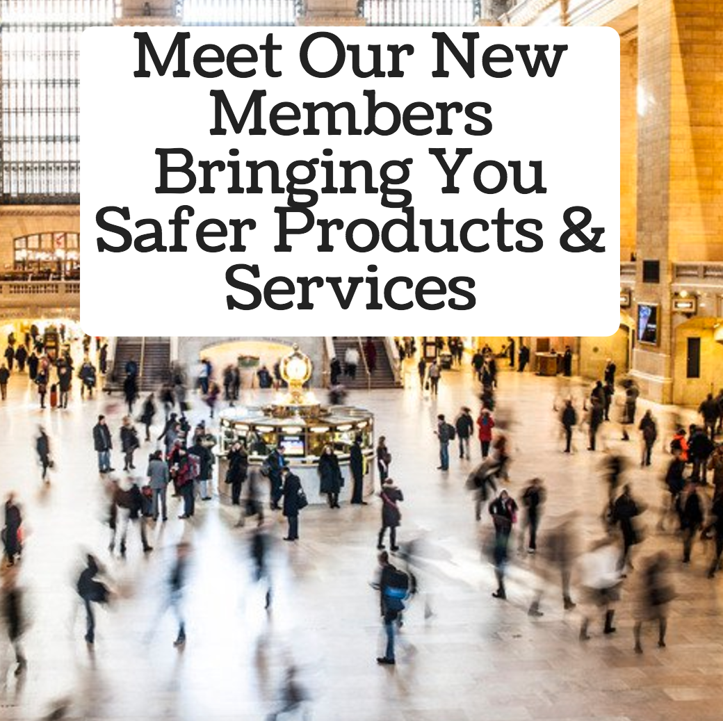 Chemical Free Community New Members Bringing You Safer Products and Services