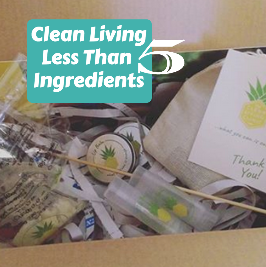 Clean Living- Less than 5 ingredients