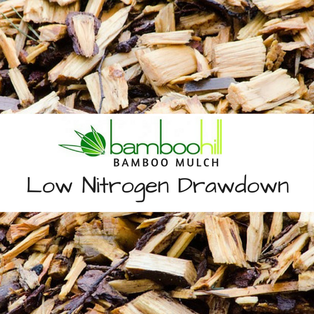 BambooHill Bamboo Mulch - Low Nitrate Drawdown