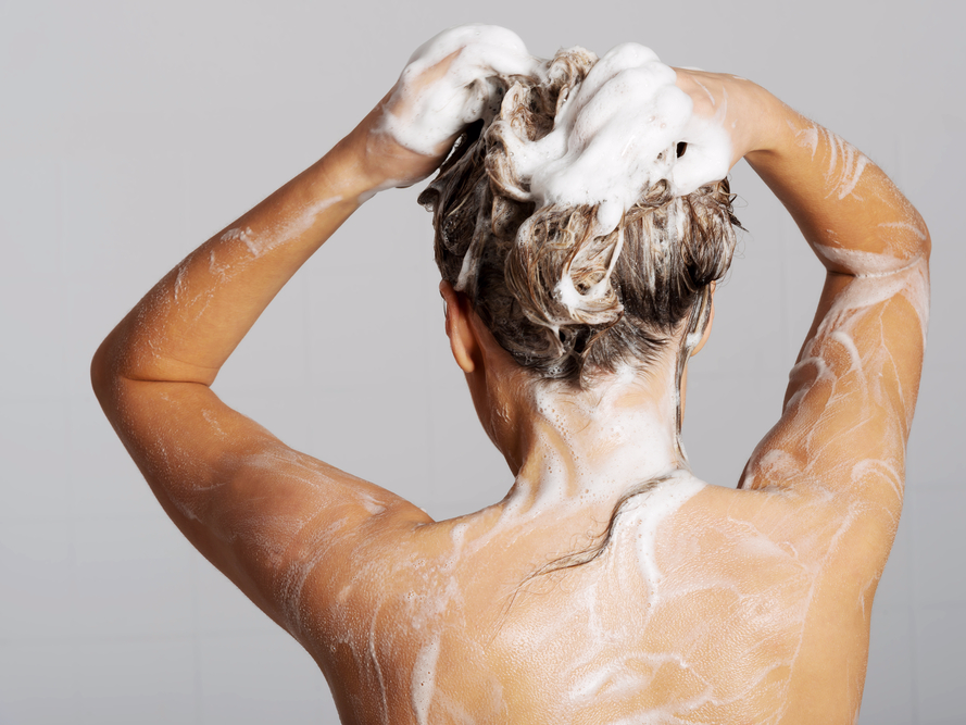 showering - ditch the toxic chemicals