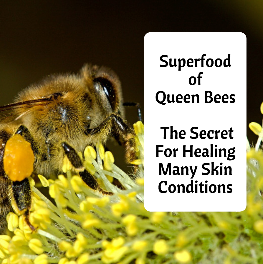 Superfood of Queen Bees The Secret For Healing Many Skin Conditions