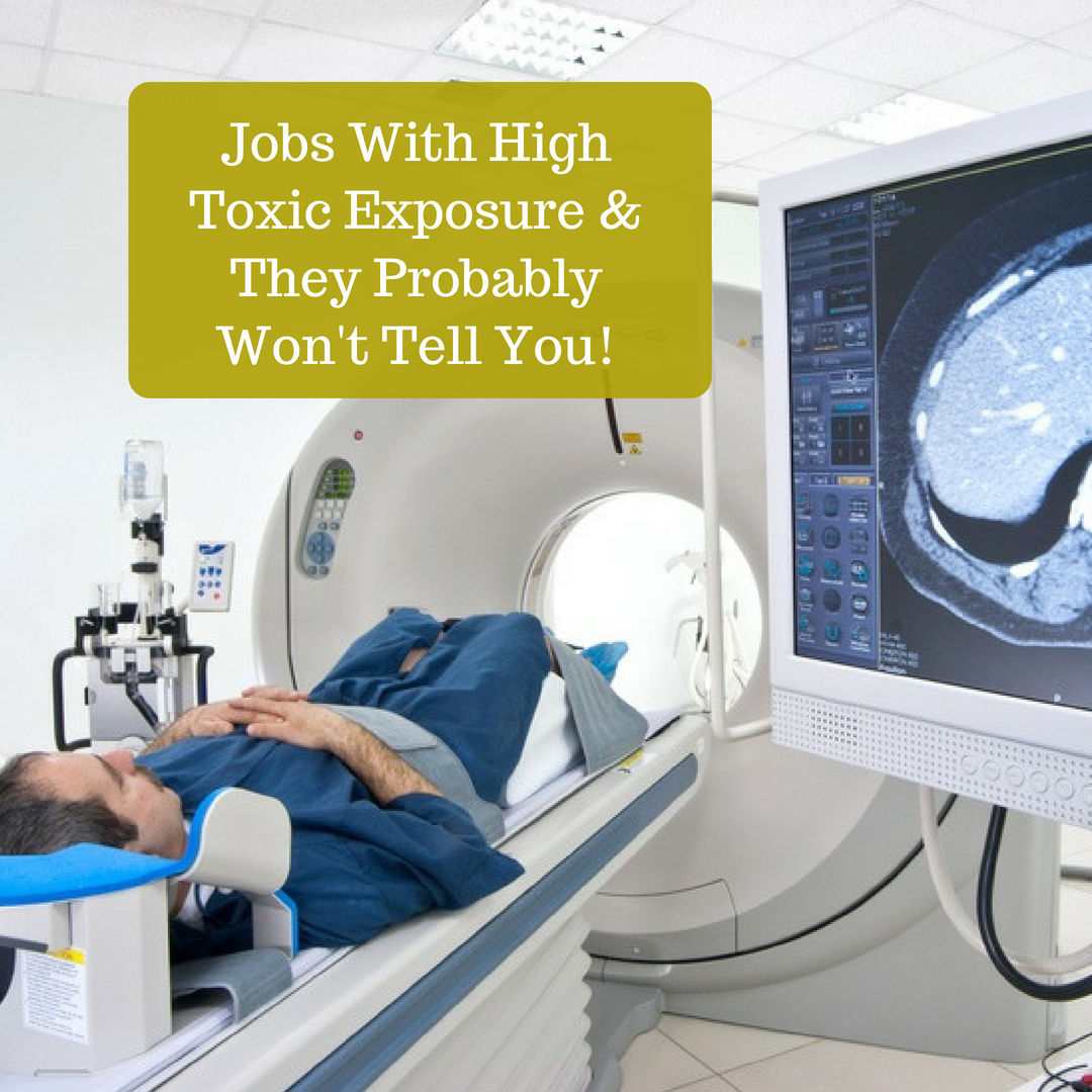 Jobs with high toxic exposure