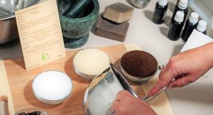 Porze making-soap