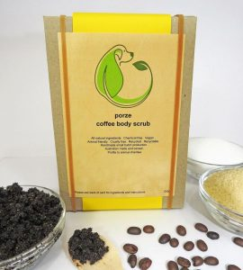 Porze coffee uplifting body scrub