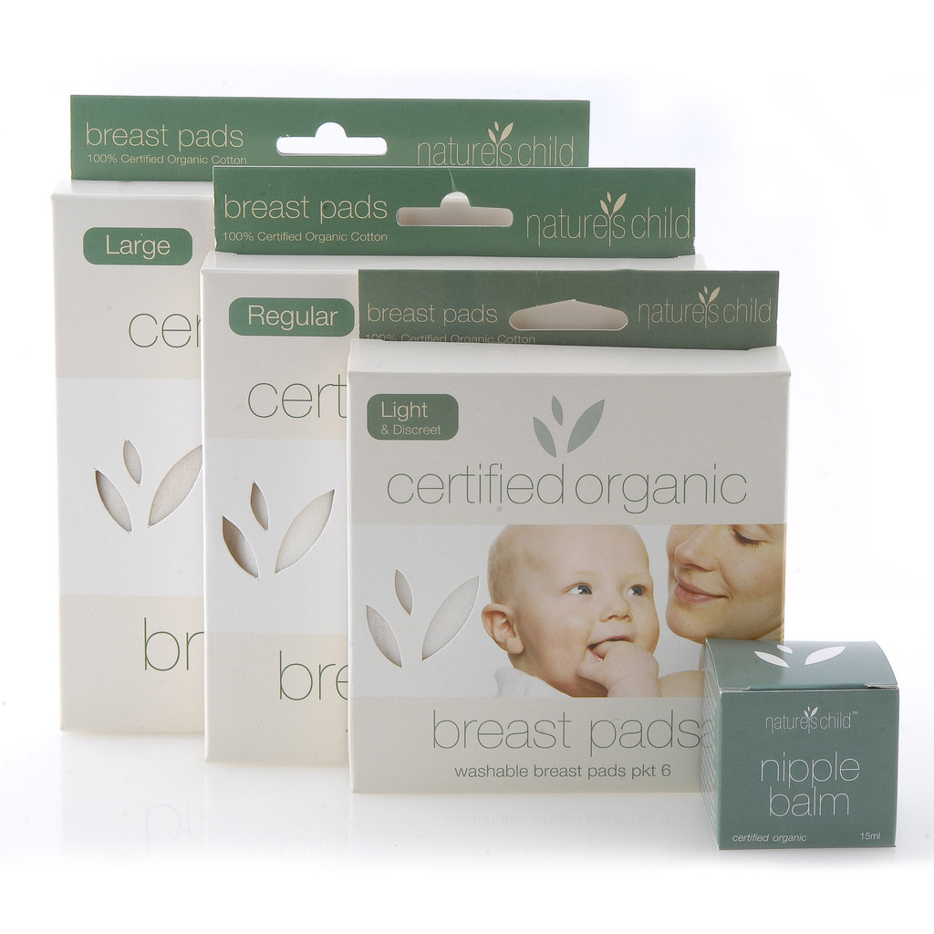 Nature's Child Cert Organic Breast Pads - Chemical Free Community member