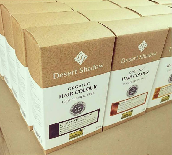 Desert Shadow Certified Organic Hair Colours and Treatments
